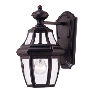 Endorado Black Wall Mount Lantern