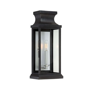 Brooke Black Wall Lantern