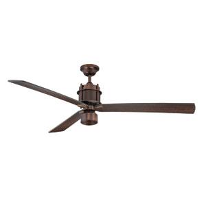 Muir Bronze One Light Ceiling Fan