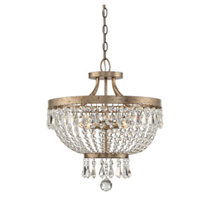 Claiborne Avalite Four-Light Semi Flush