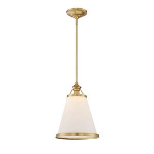 Ashmont Warm Brass One-Light Pendant