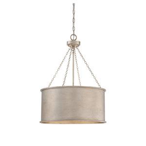 Rochester Silver Patina Four-Light Pendant