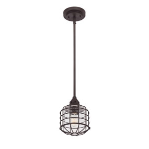 Connell English Bronze One-Light Mini Pendant