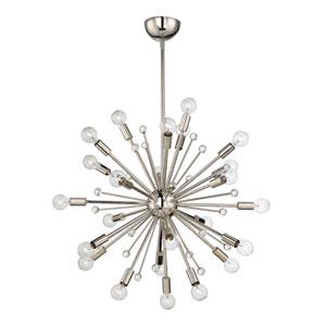 Galea Polished Nickel 24-Light Pendant