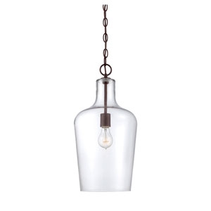 Franklin English Bronze 10-Inch One-Light Pendant