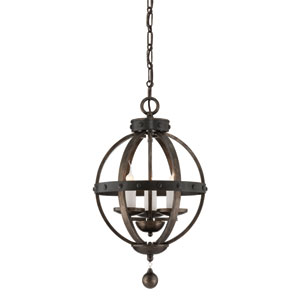Alsace Three Light Pendant