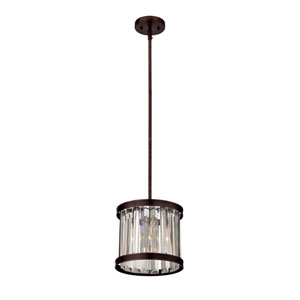 Tierney Burnished Bronze One-Light Pendant