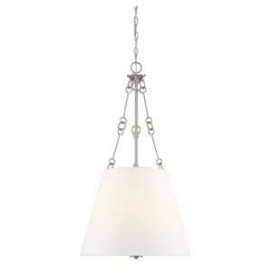 Austin Satin Nickel Four-Light Pendant