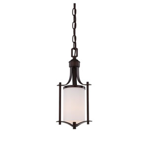 Colton Bronze One-Light Mini Pendant