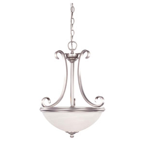 Willoughby Pewter Two-Light Small Pendant