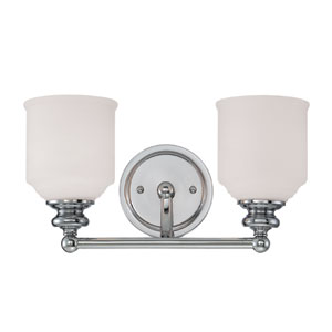 Melrose Two Light Bath Bar