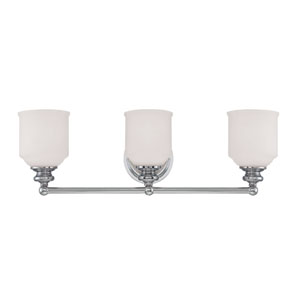 Melrose Three Light Bath Bar