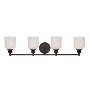 Melrose Four Light Bath Bar