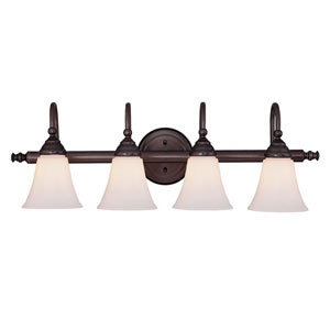 Brunswick Four Light Bath Bar