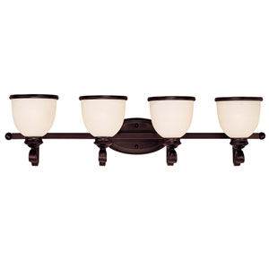 Willoughby Four-Light Bath Fixture