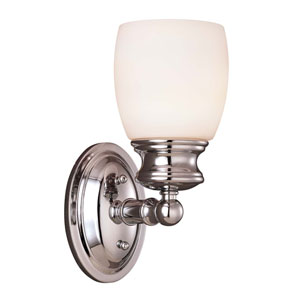 Pour Le Bain - Elise Polished Chrome Wall Sconce