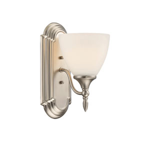 Herndon Satin Nickel One-Light Sconce