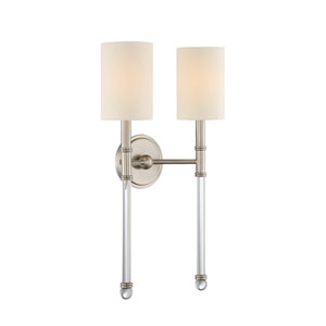 Fremont Satin Nickel Two-Light Sconce