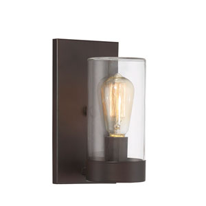 Inman English Bronze One-Light Outdoor Sconce