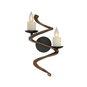 Napoli Durango Bronze Two-Light Sconce