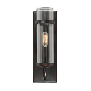 Tulsa English Bronze One-Light Sconce