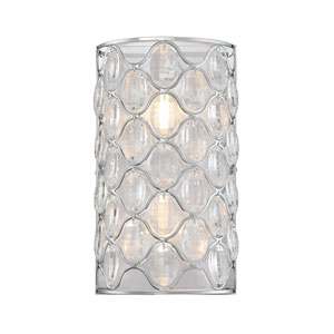 Opus Polished Chrome Two-Light Sconce