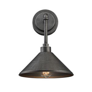 Dansk Galvanized Metal One-Light Sconce