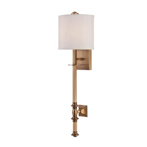 Devon Brass One-Light Wall Sconce
