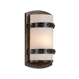 Alsace Reclaimed Wood 6-Inch One-Light Wall Sconce