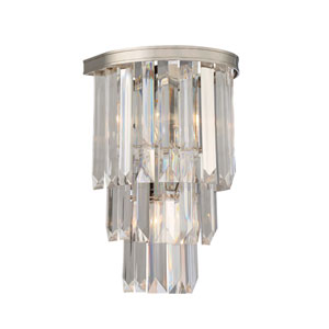 Tierney Polished Nickel Two-Light Sconce