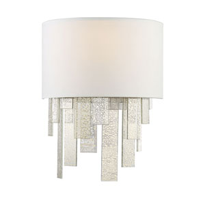 Fairmont Polished Nickel One-Light Wall Sconce