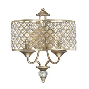 Regis Pyrite Two-Light Wall Sconce