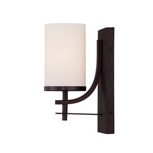 Colton Bronze One-Light Wall Sconce