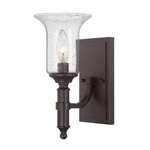 Trudy English Bronze One Light Wall Sconce
