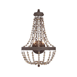 Mallory Bronze Two-Light 14-Inch Wide Wall Sconce