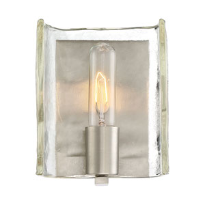 Hande Satin Nickel 6-Inch One-Light Wall Sconce