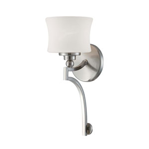 Terrell Satin Nickel Wall Sconce