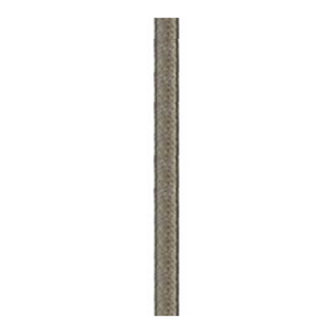 Aged Steel 18-Inch Downrod