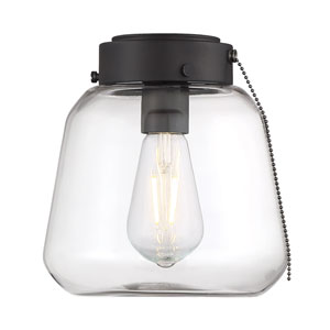 Mclean English Bronze One-Light Fan Light Kit