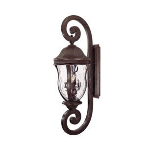 Monticello Walnut Patina Outdoor Wall Mount
