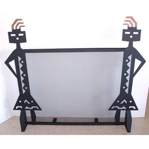 YeiI Fireplace Screen