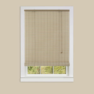 Ashland Almond 72 x 30-Inch Roll-Up Blind
