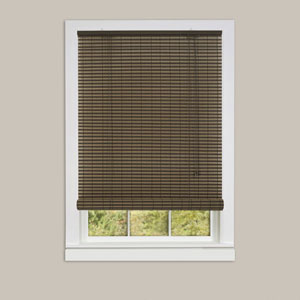 Ashland Cocoa 72 x 60-Inch Roll-Up Blind