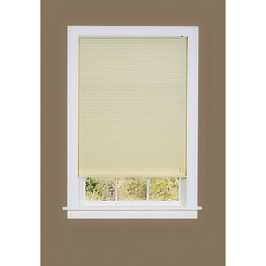 Honeycomb Cellular Alabaster 64 x 35-Inch Pleated Shade
