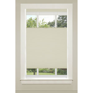 Top Down-Bottom Up Cordless Honeycomb Cellular Alabaster 64 x 23-Inch Shade