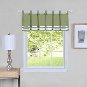 Dakota Green 58 x 14 In. Window Valance