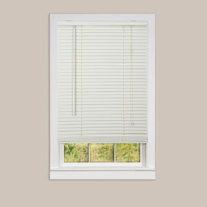 Deluxe Sundown Alabaster 64 x 23-Inch Blind