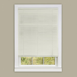 Cordless Deluxe Sundown Alabaster 64 x 23-Inch Mini Blind