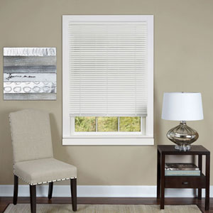 Cordless Deluxe Sundown White 64 x 36-Inch Mini Blind
