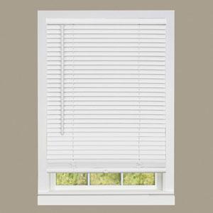 Cordless GII Deluxe Sundown Pearl White 64 x 33-Inch Mini Blind